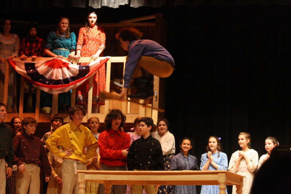 Seven Brides for Seven Brothers - Spring 2013